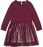 Jigsaw Girls' Sequinned 2-in-1 Dress