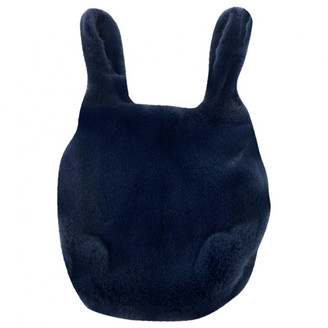 Color Temperature Navy Mink Handbags