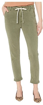 Paige Christy Pant w/ Cuff (Vintage Coastal Green) Women's Casual Pants