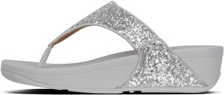 FitFlop Lulu Glitter Toe-Post Sandals