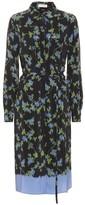 Altuzarra Strada floral silk shirt dress