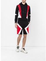 Neil Barrett Colour Block Shorts