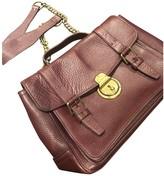 Polo Ralph Lauren Burgundy Leather Handbags