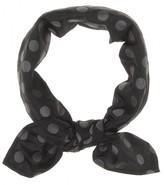 Miu Miu Polka-dot scarf