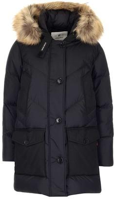 Woolrich Padded Fur Hood Coat