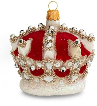 Harrods Velvet Crown Tree Decoration