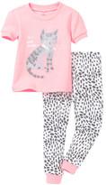 Petit Lem I Heart Cat Naps Pajama - 2-Piece Set (Baby Girls)