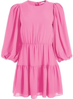 Alice + Olivia Shayla tiered mini dress