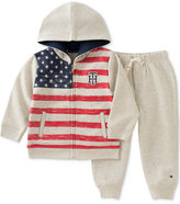 Tommy Hilfiger 2-Pc. Zip-Up Hoodie & Jogger Pants Set, Baby Boys (0-24 months)