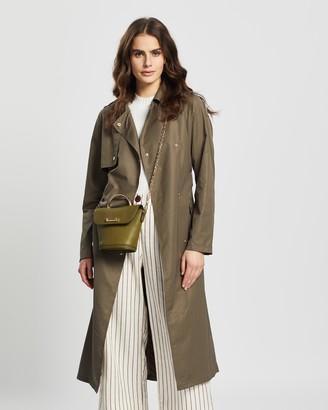 Vero Moda Melya Long Trench Coat
