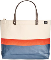 Jack Spade Men's Industrial Canvas Striped Coal Bag