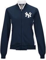 G-iii Sports Women's New York Yankees Triple Track Jacket