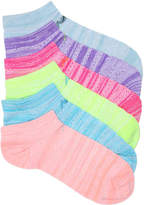 New Balance Women's Marled No Show Socks - 6 Pack