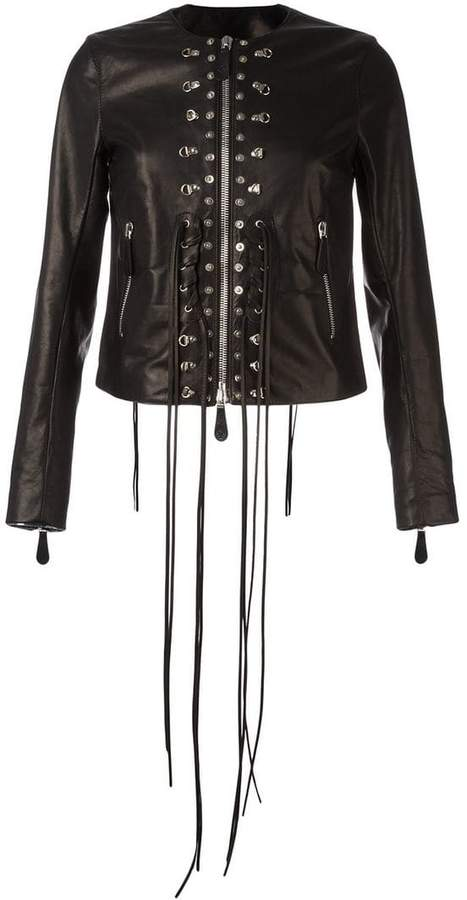Marcelo Burlon County of Milan appliqué detail jacket