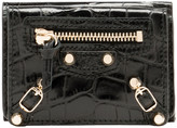 Balenciaga Croc-effect Mini Wallet