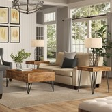 Laurèl Bayle 3 Piece Coffee Table Set Foundry Modern Farmhouse