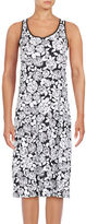 Lord & Taylor Floral-Print Sleeveless A-Line Dress