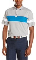 Hogan Ben Men's Golf Solid Colorblock Shirtsleeve Polo Shirt