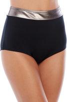 Carmen Marc Valvo Cosmopolitan Shirley High-Waist Bikini Bottom