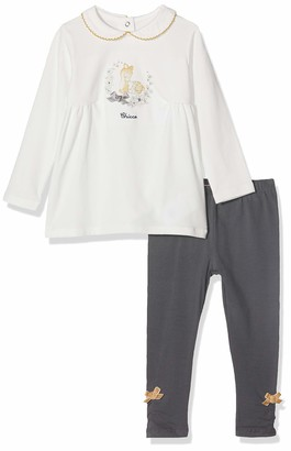 Chicco Baby Girls' Completo T-Shirt Maniche Lunghe Con Leggings Clothing Set