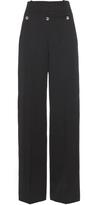 Balenciaga Sailor wide-leg wool trousers