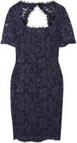 Emilio Pucci Cutout lace mini dress