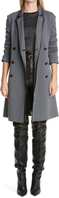 St. John Belted Leather Pants