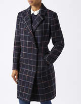 Monsoon Aster Check Crombie Coat