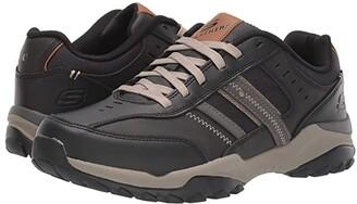 Skechers Relaxed Fit Henrick - Delwood (Black) Men's Shoes