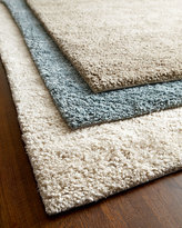 Horchow Exquisite Rugs White Shag Rug, 8' x 10'