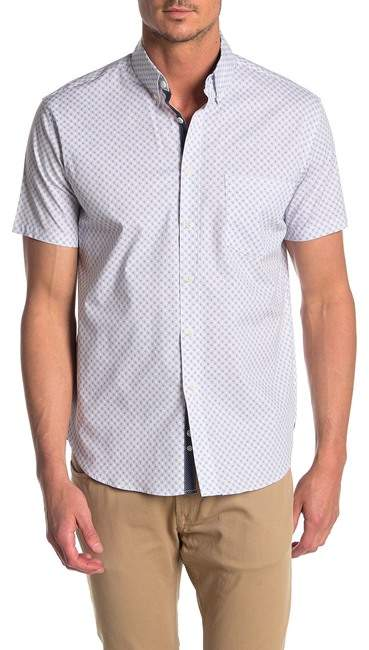 7f176dbed Short Sleeve Slim Fit Shirt - ShopStyle