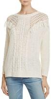 Rebecca Minkoff Barb Fringe Sweater