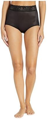 Bali Lacy Skamp Brief (Black) Women's Underwear