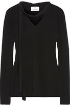 Allude Cashmere Sweater - Black