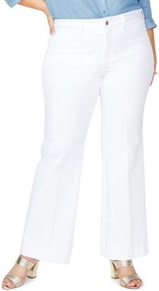 NYDJ Teresa Sateen Trouser Pants (Plus Size)