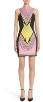 Versace Women's Scarf Print Stretch Cady Dress