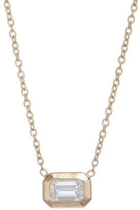 Zoë Chicco Paris Diamond & 14K Yellow Gold Pendant Necklace