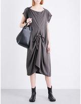 Limi Feu Ribbon-detail twill dress