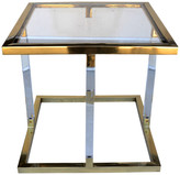 Helena R16 Home Furniture Gold Side Table