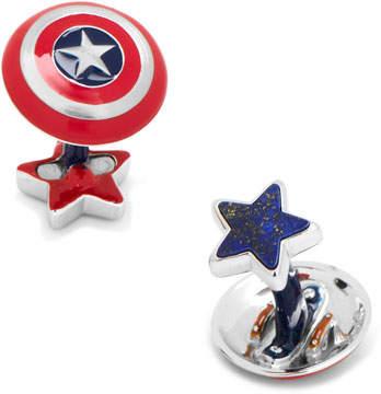 Cufflinks Inc. 3D Captain America Cuff Links