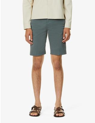 Corneliani Mid-rise cotton shorts