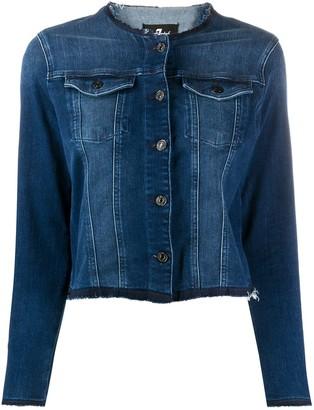 7 For All Mankind slim denim jacket