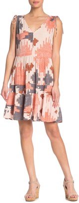 Susina V-Neck Tank Fit & Flare Dress