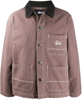 Stussy Brushed Moleskin Chore Jacket