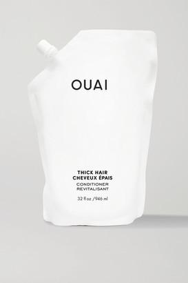 Ouai Thick Hair Conditioner Refill, 946ml