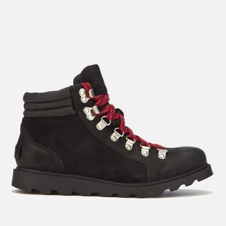 Sorel Women's Ainsley Conquest Hiker Style Boots - Black/Black