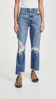 Good American Good Vintage Jeans With Side Step