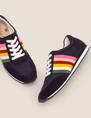 Boden Striped Sneakers