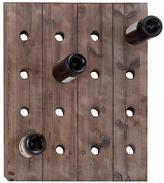 Wood Wall Wine Rack