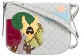 Louis Vuitton Snakeskin-Trimmed Conte de Fees Musette Bag